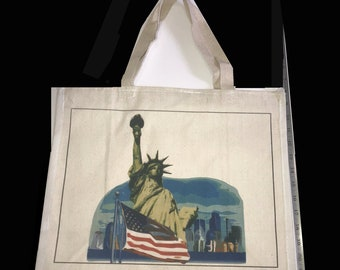 Statue of Liberty Tote