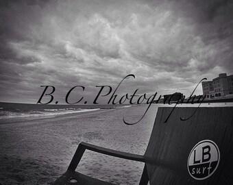 Long Beach Surf, Lifeguard Chair