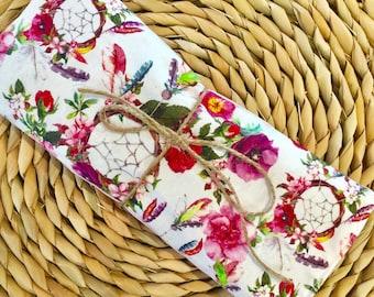 Lavender eye pillow, boho eye pillow, relaxation eye mask, lavender mask, boho pamper gift, boho eye mask, baby shower gift, new mum gift