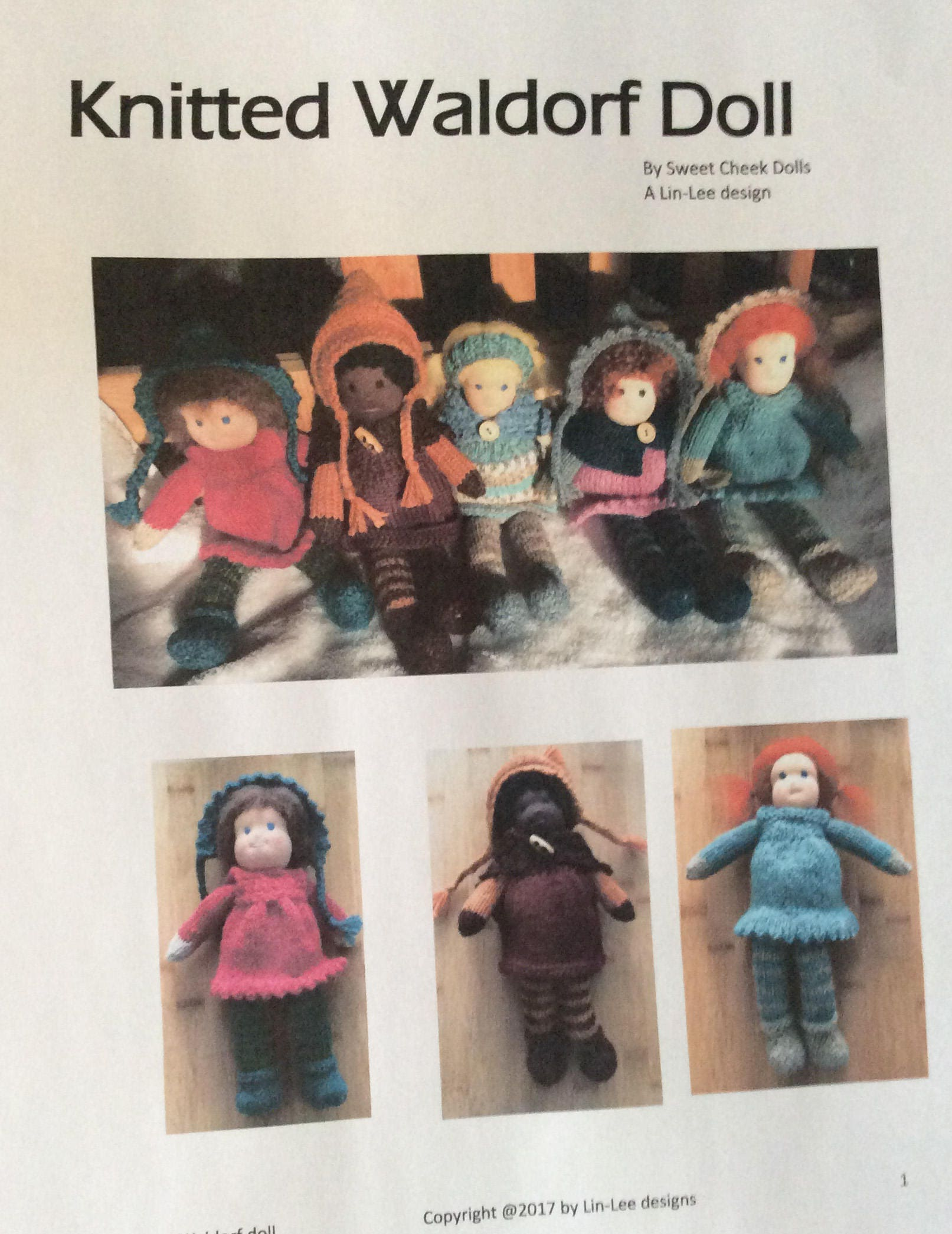 Knitted Waldorf Doll Pattern