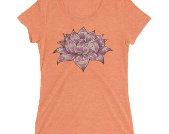 Pink Lotus Women's short sleeve t-shirt