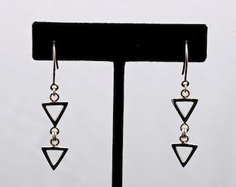 Geo14 - Earrings - Sterling Silver