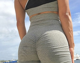 Sexy back leggings - workout fitness pants - sexy back leggings