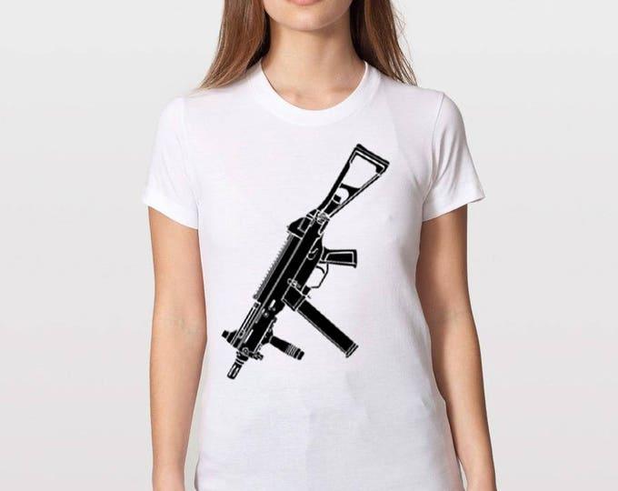 KillerBeeMoto: Limited Release UMP45 Sub Machine Gun T-Shirt