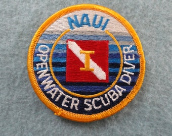 NAUI Open Water Scuba Diver     Patch