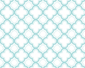 Sorbets - Aqua Geo 23688-Q by Quilting Treasures - Cotton Fabric Yardage