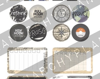 Be Punk Planner Graphics
