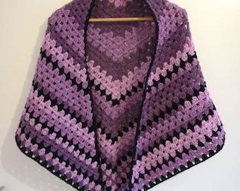 Lavender shawl