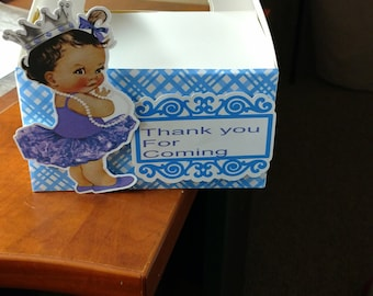 Large Princess Gable box favor