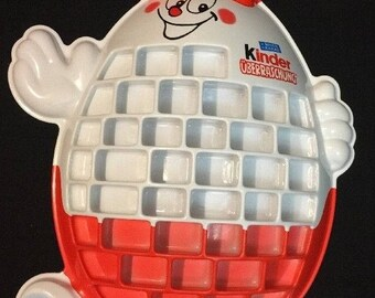 """Kinder Surprise Eggs Large Toy Display Promo Store Advertising Miniature 29""""x21"""""""