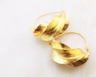 THE FULA Bronze Earrings