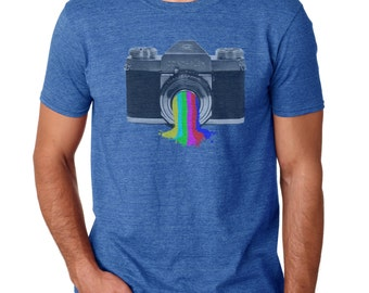 Photographer Gift | Photographer Shirt | Camera T shirt | Photography Shirt | Graphic Tee | Men's Tshirt | vintage camera shirt | tshirts