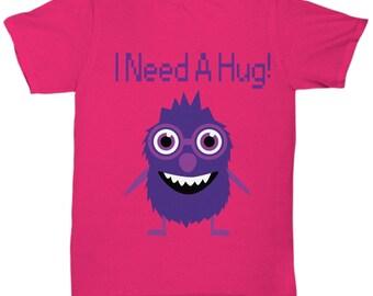 Monster I Need A Hug Tshirt