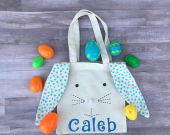 Personalized Easter Tote Bag, Personalized Easter Bag, Child Easter Bag, Easter Tote, Kids Personalized Easter Tote Bag, Easter Tote Boy