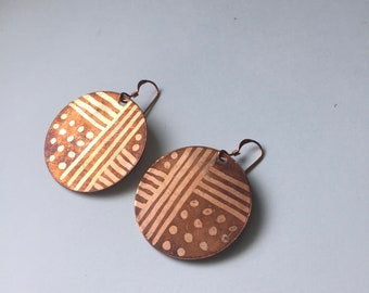 Road to Sycamore Earrings Tsalagi Cherokee Made