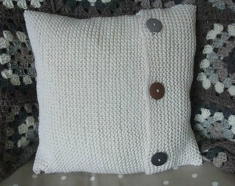 knitting Pattern for Simple Cushion Cover