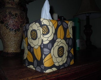 Ready To Ship -  BLOOM  Joel Dewberry  - Fabric Tissue Box Cover