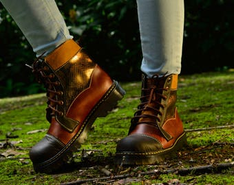 Strong boots for strong women.