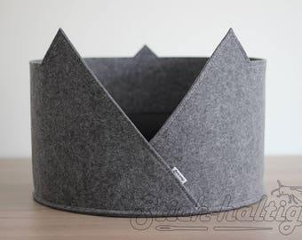 pet bed cat bed cat house made of felt minimalistic pet furniture