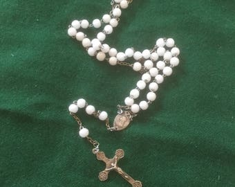 Antique  French rosary beads