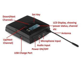 VS MR3 Transmitter