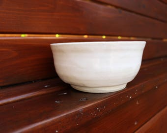 Dreamy Porcelain White Medium Bowl