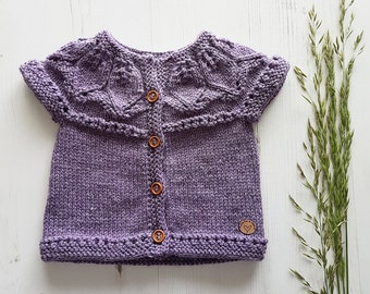 Luxury Baby Cardigan | Hand Knit Baby Cardigan | Baby Sweater | Baby Girl Gift | Baby Boy Gift | High End Baby Cardigan | Baby Present |
