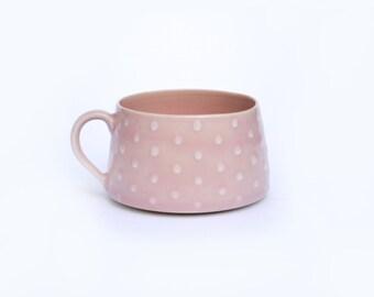 Short and Sweet Polka Dot Mug