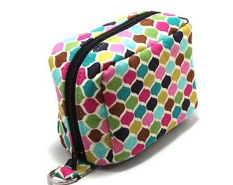 Essential Oil Case Holds 6 Bottles Essential Oil Bag Colorful Moroccan Tiles