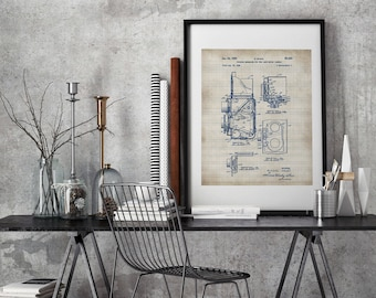 Photographic Camera, Patent Print, Camera Patent, Old Camera , Photo Camera , Camera Print, Camera Poster, Camera Art, Patent prints #P126