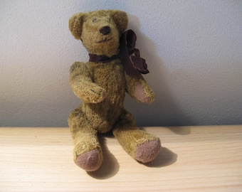 Antique English bear, everything is moveable, 13 cm ... 1910/20