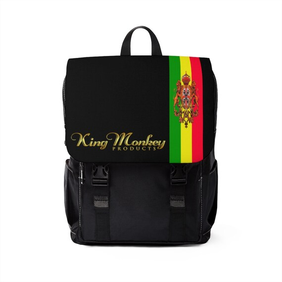 King Monkey Products Unisex Casual Shoulder Backpack