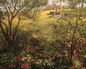 Entrance To Formal Garden