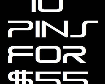 10 Pin Special Deal!