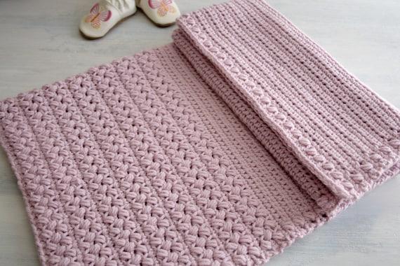 Crochet Pattern Crochet Baby Blanket Pattern New Baby Afghan