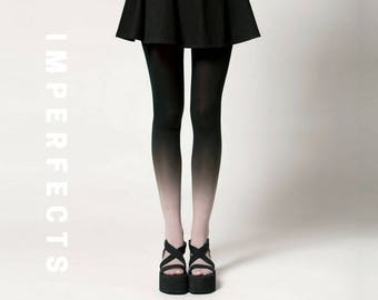 IMPERFECT, Ombré Tights in Smoke