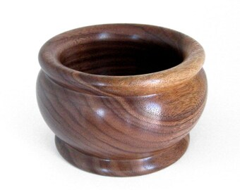 Handcrafted Walnut Wood Bowl