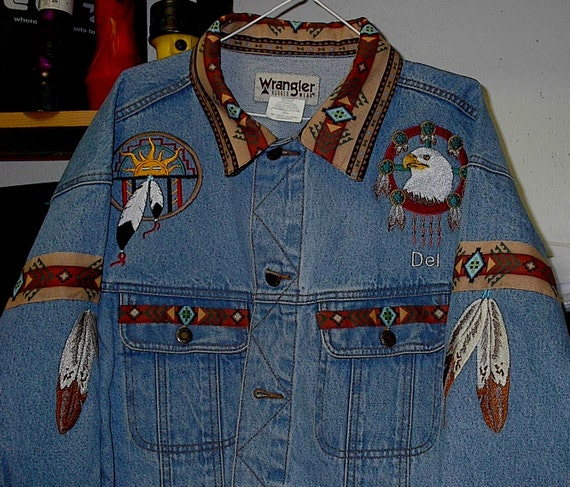 Eagle/eagle feather native american shirt fMINAjg