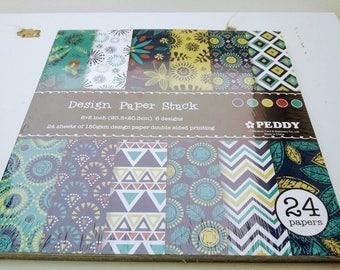 Paper patterns various new scrapbooking