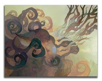 Breath 8.5 x 11 Art Print