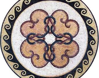 Roman Geometric Mosaic - Aetius