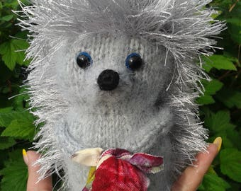 HEDGE IN TUMAN. a handmade toy, a soft toy for a child, a souvenir, a home decoration