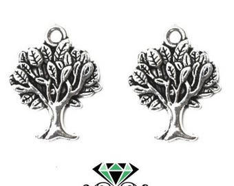 X 2 charms tree - nature - tree of life
