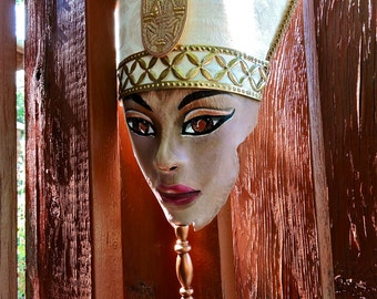 Queen Nefertiti Egyptian Mask
