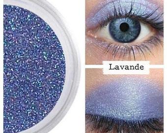 Lavender Eye, Purple Eyeshadow, LAVANDE, Purple Blue, Mineral Eye Color, Natural Eyeshadow, Lavender Purple Eye, Vegan Purple Shadow, Purple