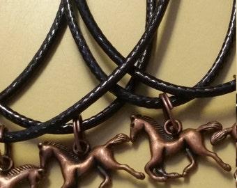 Lot de 10 Party Favors colliers cuivre chevaux poneys anniversaire prix prix livraison gratuite