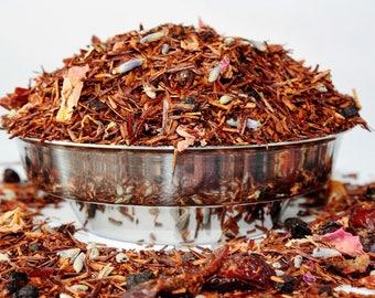 Berries and Blossom herbal tea -  Rooibos Loose Leaf - Tea - Rooibos - Caffeine Free Tea - Redbush Tea - Loose Leaf Tea - Tea - Tea Gift