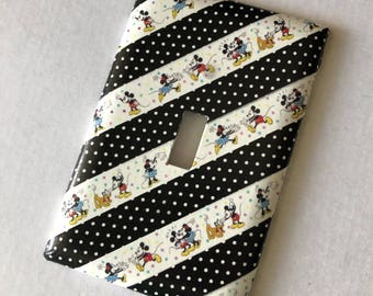 Mickey and Minnie Switchplate Cover