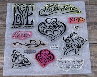 Close to My Heart Acrylic Stamp Set, In My Heart, D1245