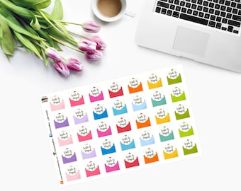 Write to Penpal Planner Stickers CAM00222